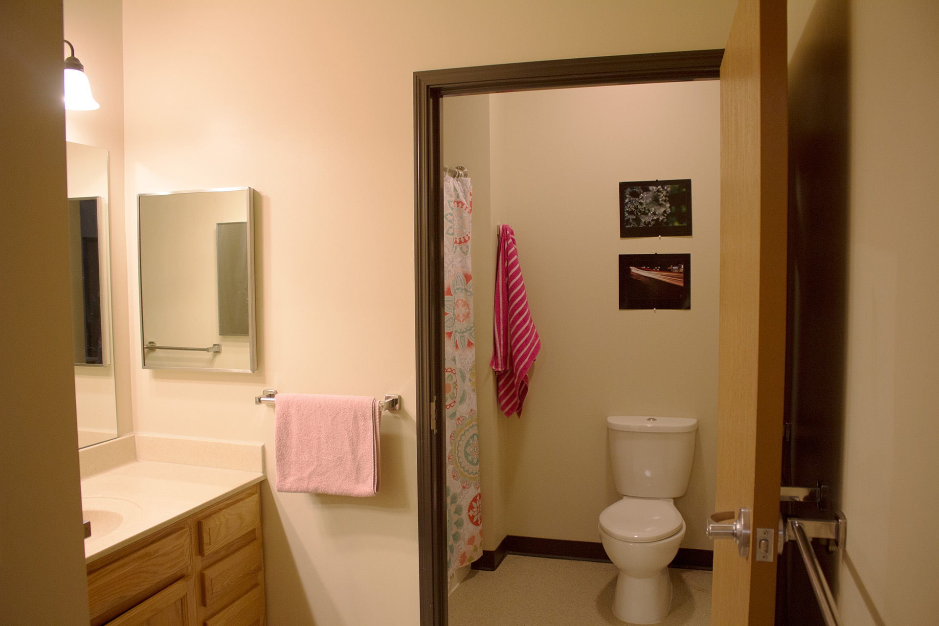 Bathroom in Residence Halls